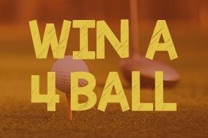 Win a FREE 4 ball